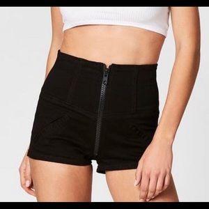 Black carmar shorts